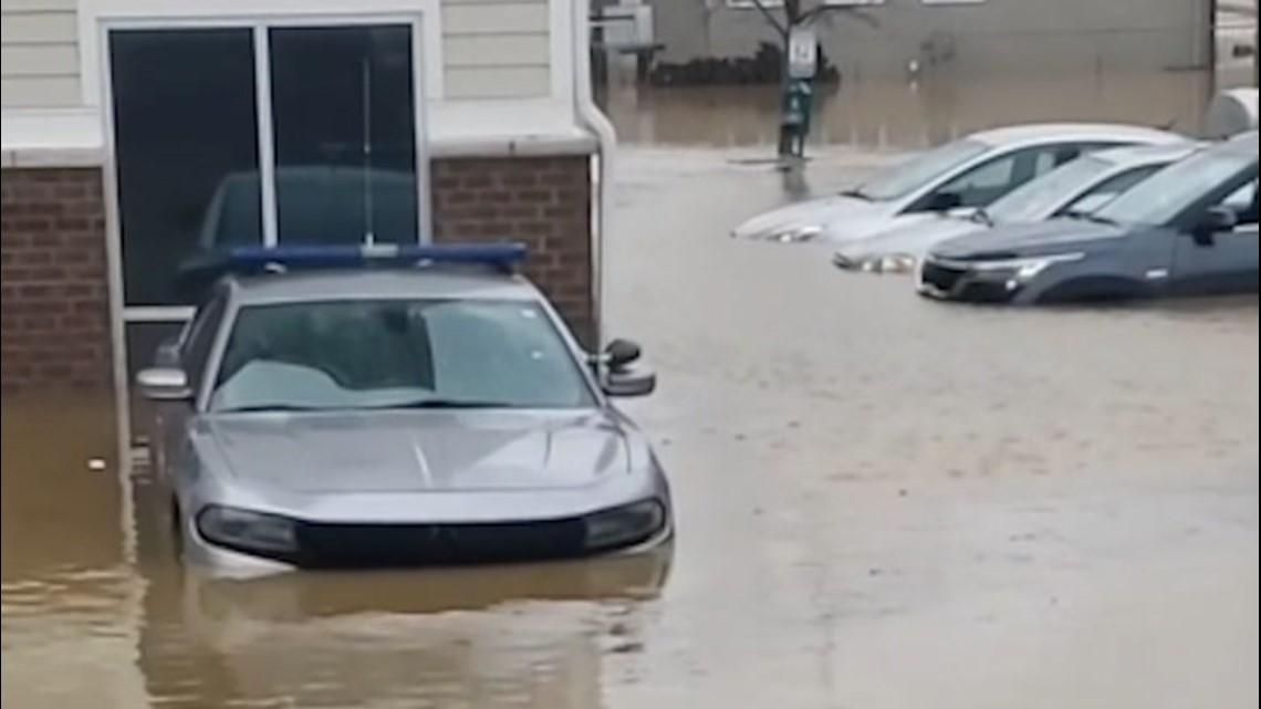 Heavy rain leaves wide swaths of Kentucky flooded