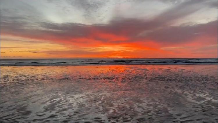 A  brisk weekend sunrise