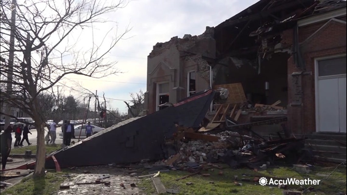 Congregation hopeful to rebuild one year after tornado