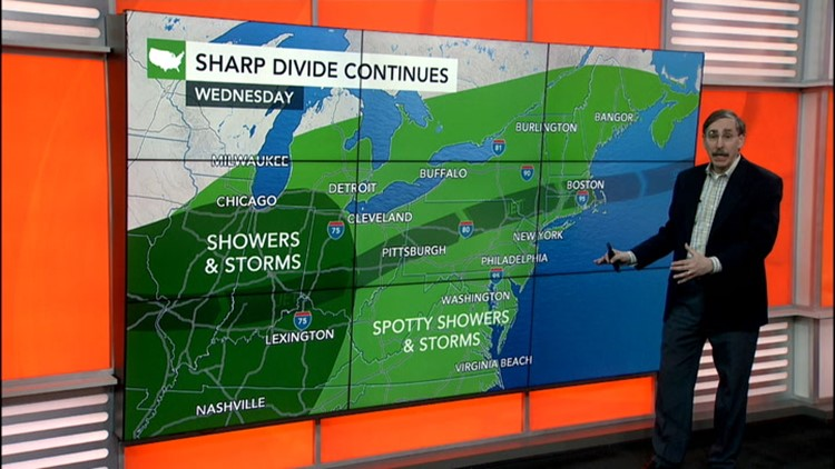 Waterlogged Ohio Valley, Northeast face more rain and now a heightened tornado risk