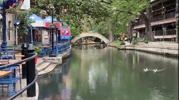 San Antonio River Walk clearing up during COVID-19 shutdown