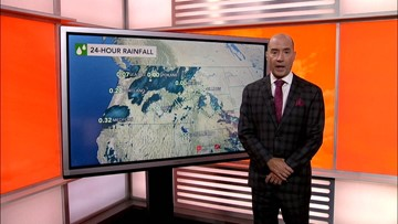 An early taste of Fall-like weather is coming for the East