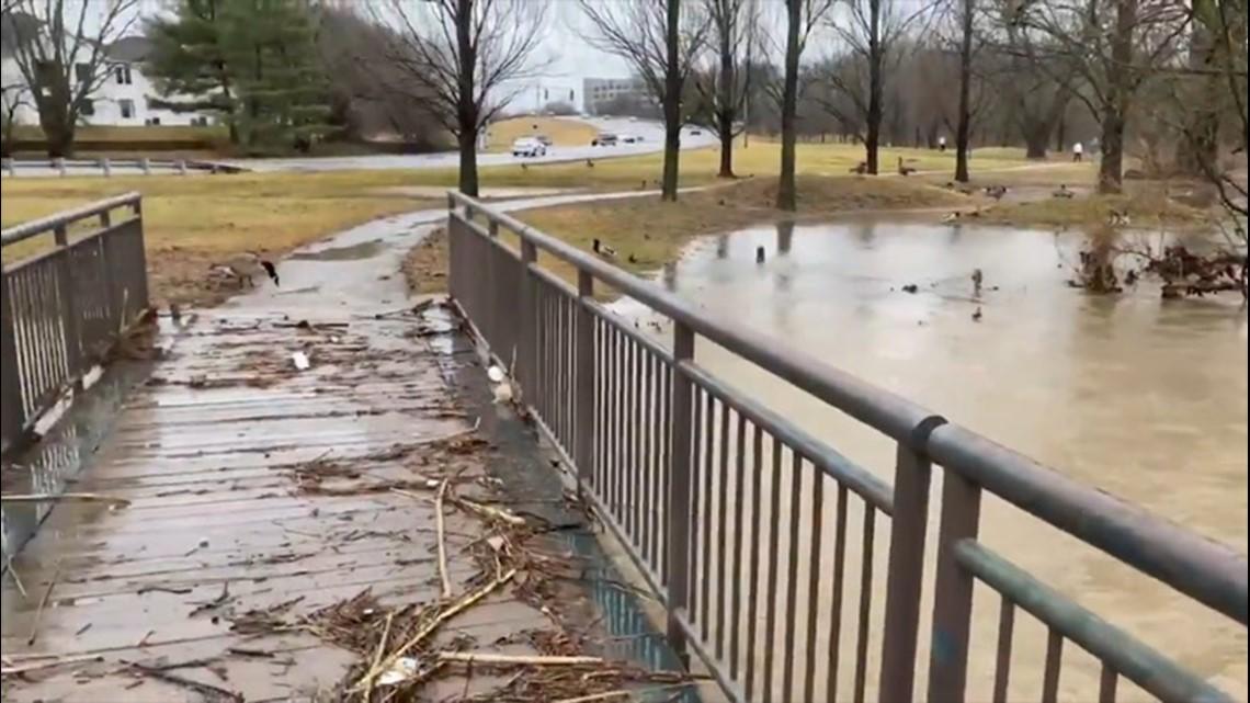 Flash flooding wreaks havoc across the Southeast