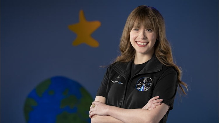 Cancer survivor set to be the youngest American in space