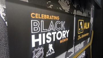 Black players impacting hockey history
