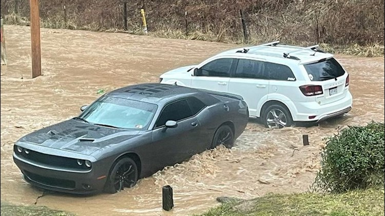 Heavy flooding in West Virginia