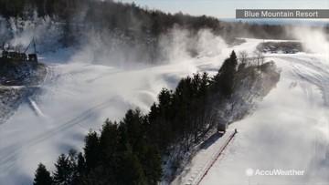 Ski season starting sooner than expected