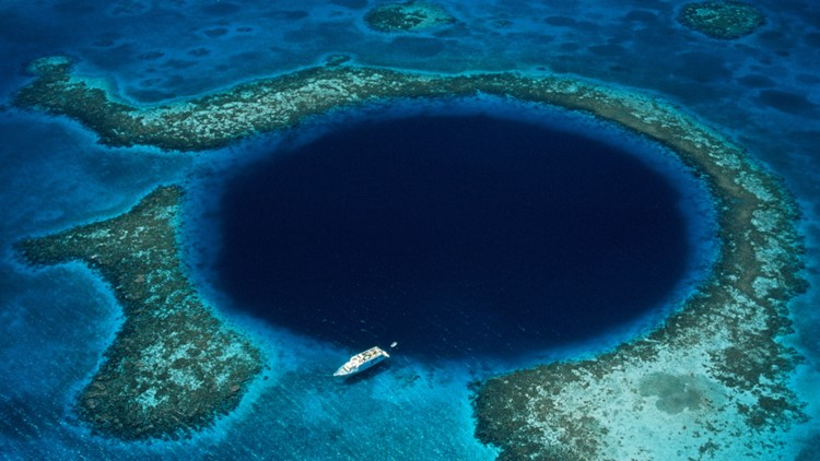 What Exactly Is at the Bottom of This Mysterious 'Blue Hole?'