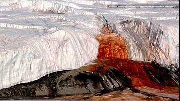Blood Falls: Antarctica's Eerie 'Bleeding Glacier,' Explained
