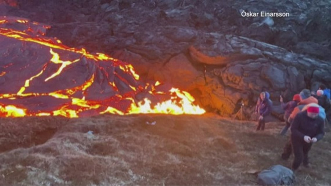 Check Out This Video of a Photographer Running Away From an Icelandic Volcano