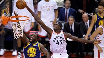 Raptors beat Warriors 118-109 to open NBA Finals