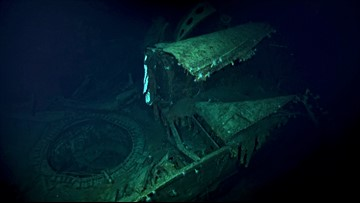 Deep-sea explorers uncover Japanese ship that sank during WWII