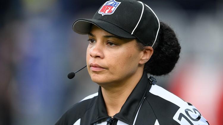 NFL referee Maia Chaka makes history