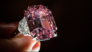 Pink diamond sells for more than $50 million, sets record