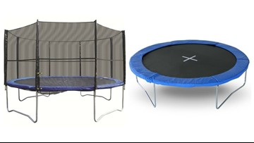 Are your kids jumping on this trampoline? It's been recalled
