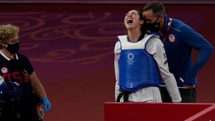 Anastasija Zolotic becomes 1st American to win gold in women's taekwondo