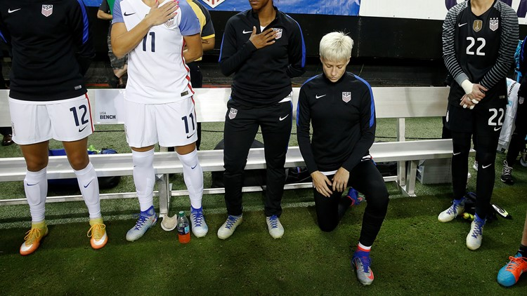 Reports: US Soccer council repeals rule requiring players to stand for national anthem