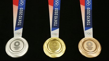 2020 Olympics medals are made entirely from recycled electronics