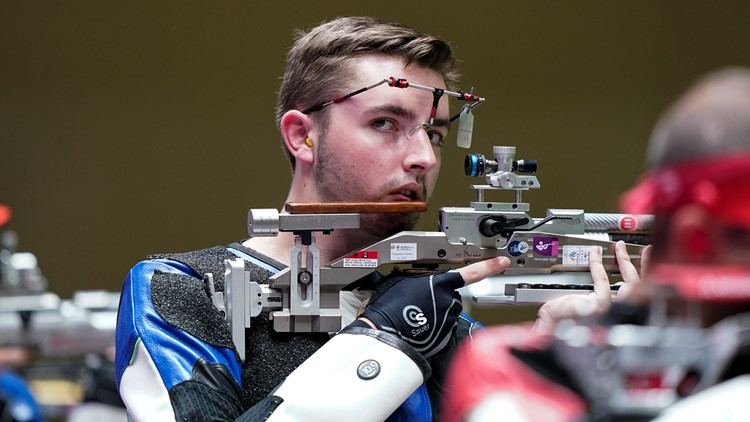US shooter, UK Grad sets Olympic record in gold-medal win