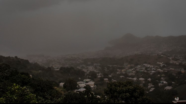 More volcanic eruptions on Caribbean island of St. Vincent
