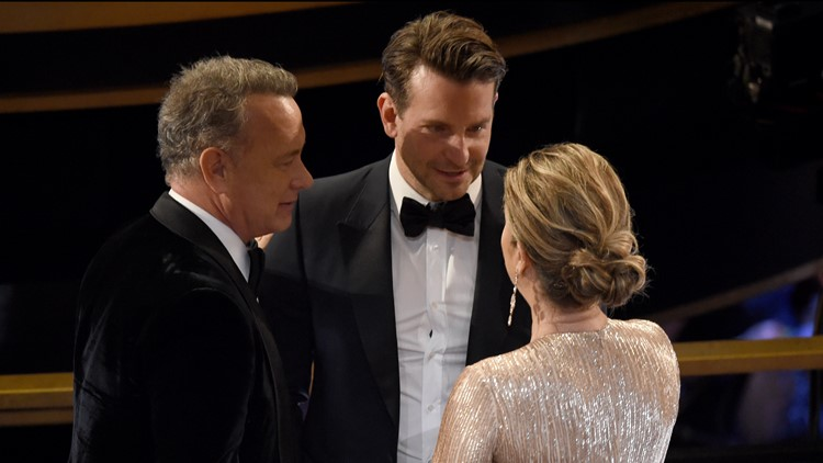 Tom Hanks Bradley Cooper Rita Wilson 92nd Academy Awards - Show