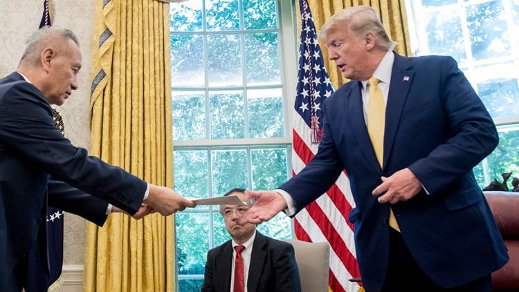 Trump US China Trade letter China