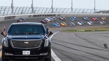 Daytona 500 set to resume Monday without president, pomp, packed house