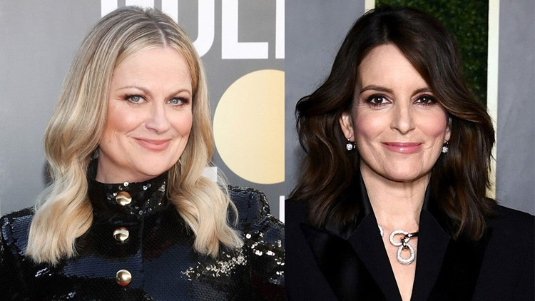 Amy Poehler and Tina Fey Are Chic in Multiple Golden Globes Hosting Looks