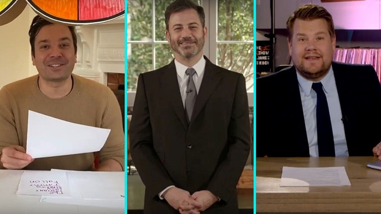 Late-Night Hosts Return to TV With Hilarious Toilet Paper Jokes -- See the Funniest Quarantine Monologues