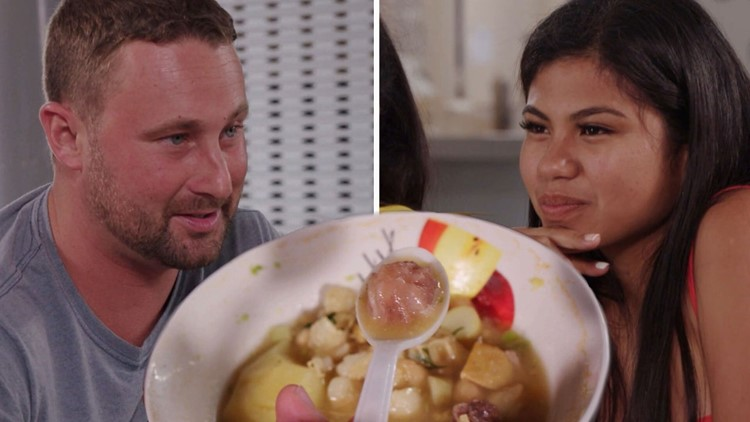 '90 Day Fiancé': Evelin's Sisters Trick Corey Into Eating Penis Soup (Exclusive)