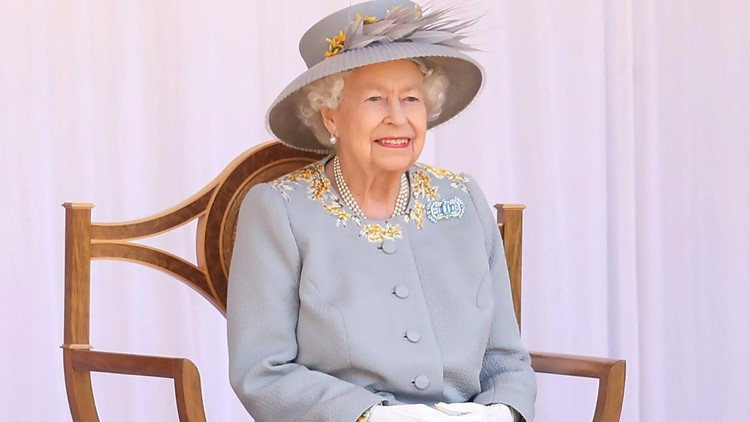 Queen Elizabeth Holds Special Trooping the Colour Ceremony at Windsor Castle