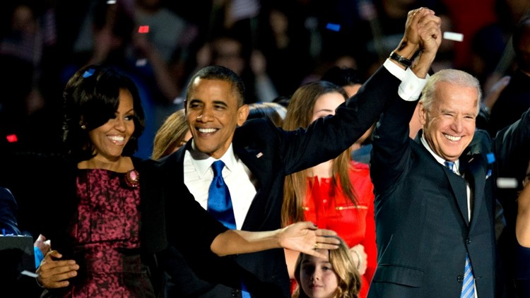 Barack And Michelle Obama Congratulate Joe Biden And Kamala Harris On Winning 2020 Election Whas11 Com