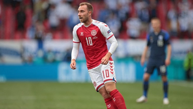 Christian Eriksen 'Awake' After Collapse in Denmark-Finland Soccer Game