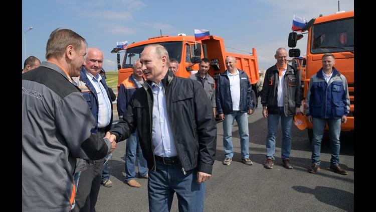 EPA CRIMEA BRIDGE UNVEILING EBF CONSTRUCTION & PROPERTY UKR RE