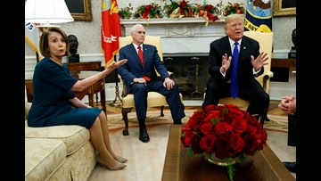 Fact check: The Trump-Pelosi-Schumer scuffle in the Oval Office