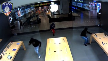 Shopping this holiday season? Keep your eyes on the door for robbers