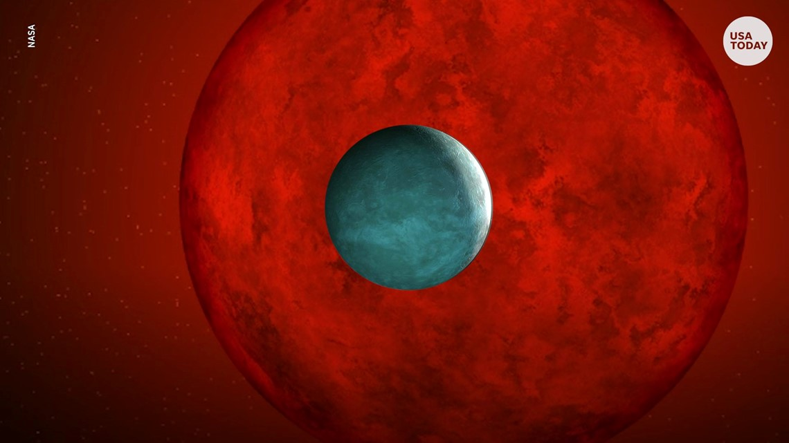 Astronomers discover 'evaporating' planet