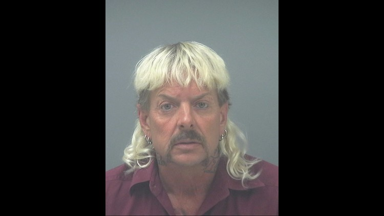 """A tiger keeper nicknamed """"Joe Exotic"""" was arrested for allegedly attempting to put a hit on a South Florida woman"""