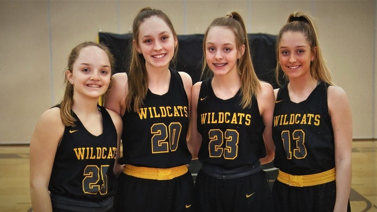 Four sisters on top-ranked basketball team, and that's not the best part of their story