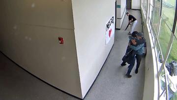 Watch: Parkrose coach Keanon Lowe disarms student, hugs him