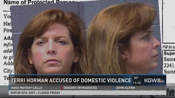 Kyron Horman's stepmother accused of domestic violence