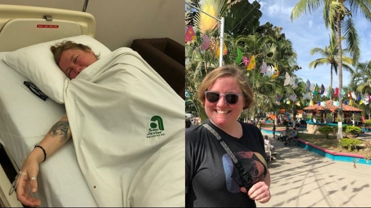 Woman's Mexican vacation leaves her with mystery illness
