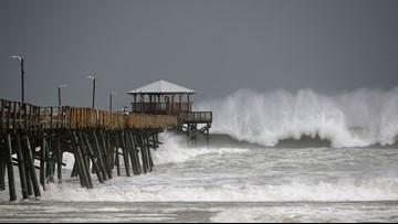WATCH LIVE: Hurricane Florence live streams from Carolinas