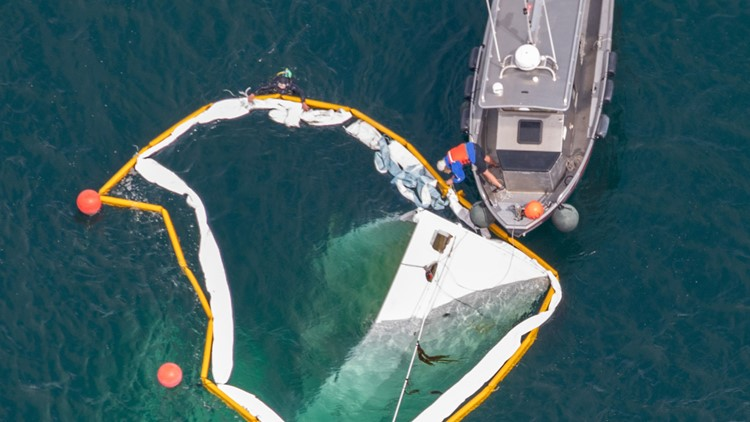 John Wayne's former yacht the Norwester sinks off the San Juan Islands