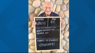 Retirement community posts 'back-to-school' photos with advice for students