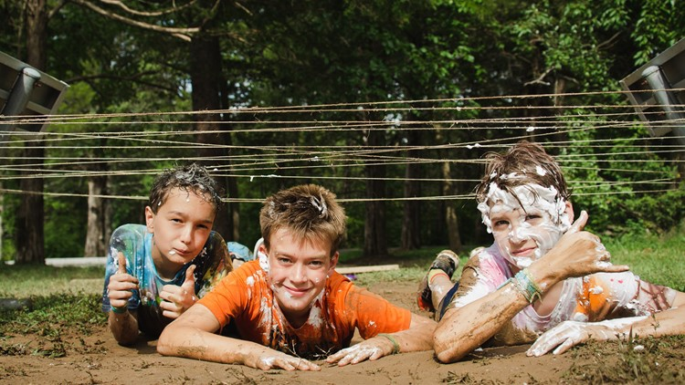 Camp helps kids whose parents are touched by cancer