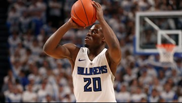 Mysterious condition keeps SLU's Fred Thatch Jr. sidelined