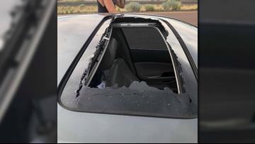Man attacks Arkansas couple on Arizona highway, falls off vehicle and dies