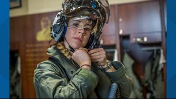 Idaho woman becomes first female F-35B pilot