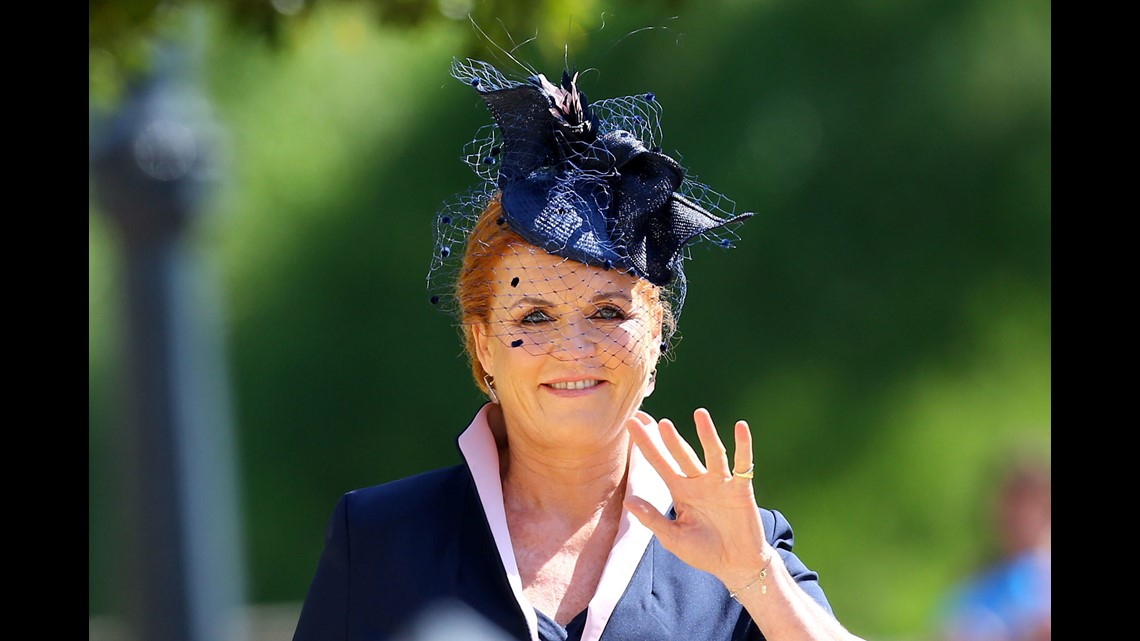 The best fascinators at the royal wedding  473a79db863